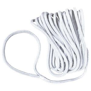 Pre-Spliced Dockline Rope - White