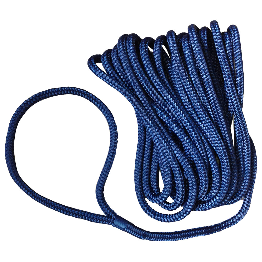 Pre-Spliced Dockline Ropes - Navy