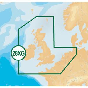 Plus  XL9 Chart 28XG UK Ireland & N France