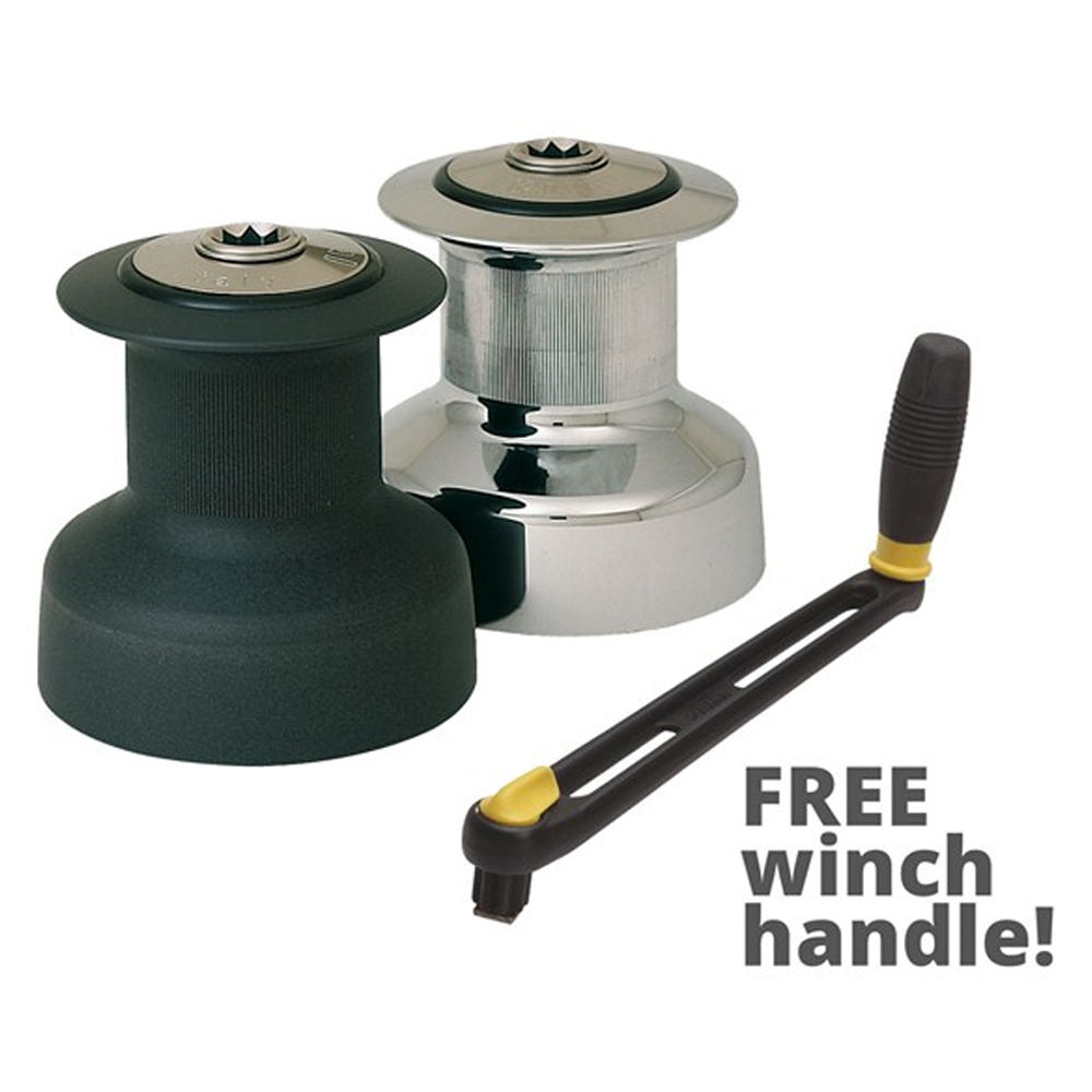 W30 Winches   FREE Winch Handle