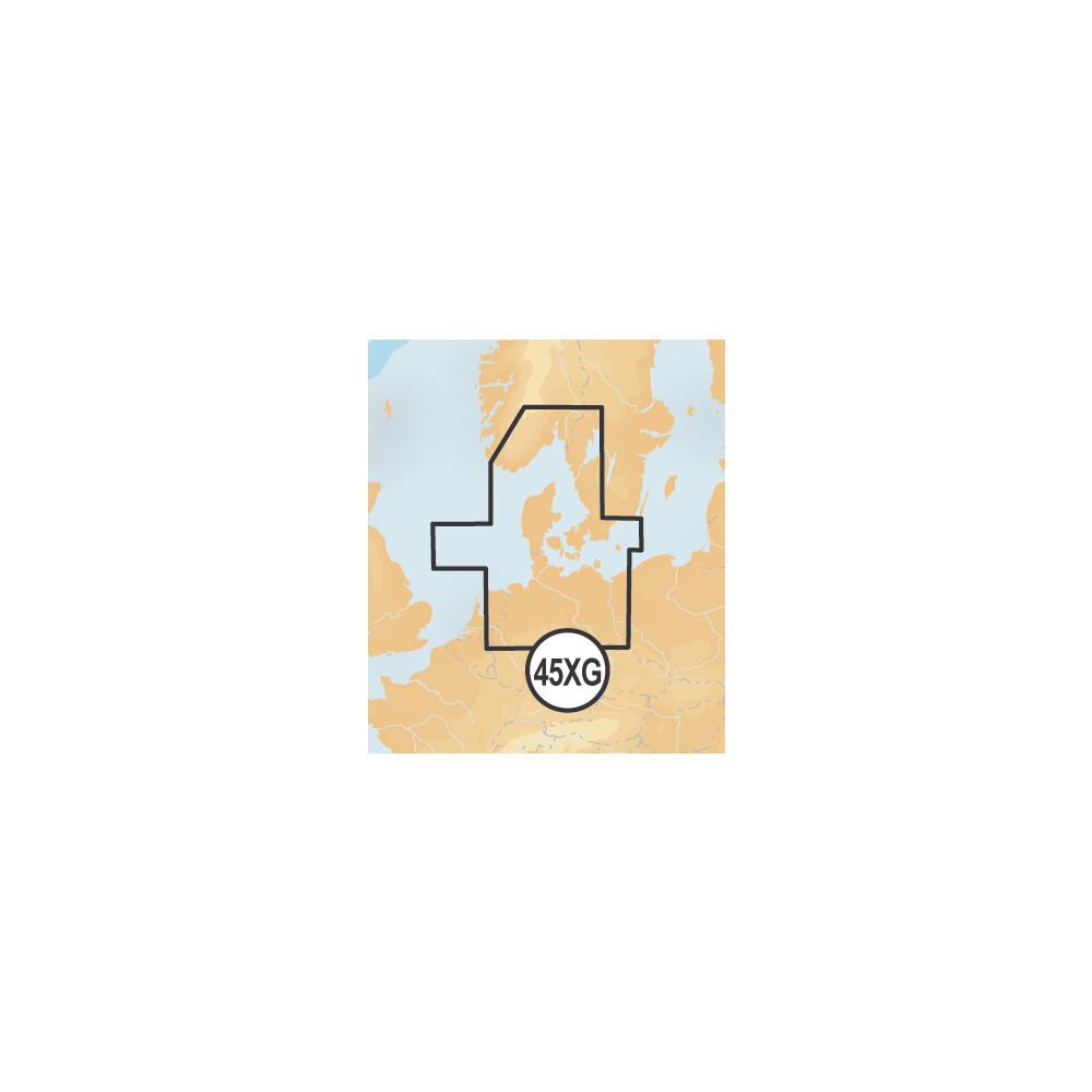 +  XL9 Chart • 45XG Skagerrak & Kattegat