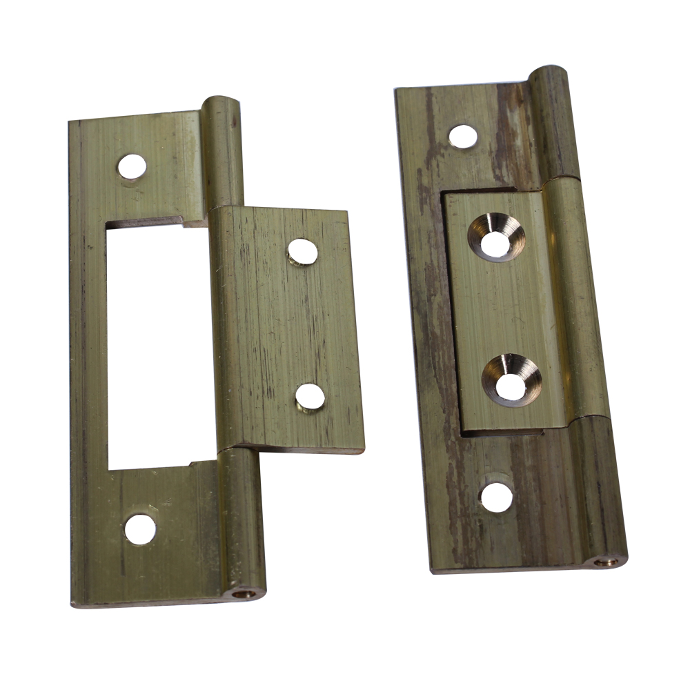 Brass Flush Hinges