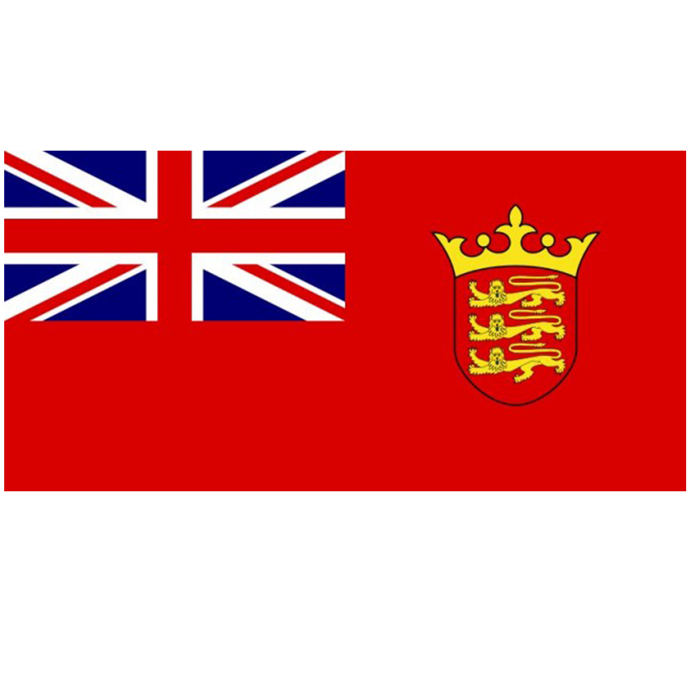 Jersey Defaced Red Ensign