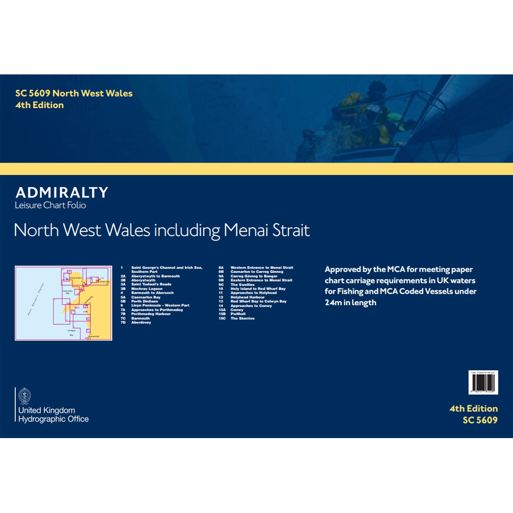 Folio - SC5609 - North West Wales inc Menai Strait
