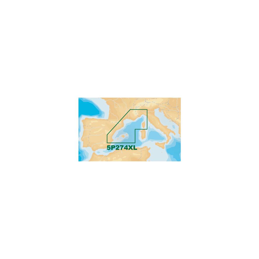 Platinum+ XL Chart • 5P274XL Mediterranean North W