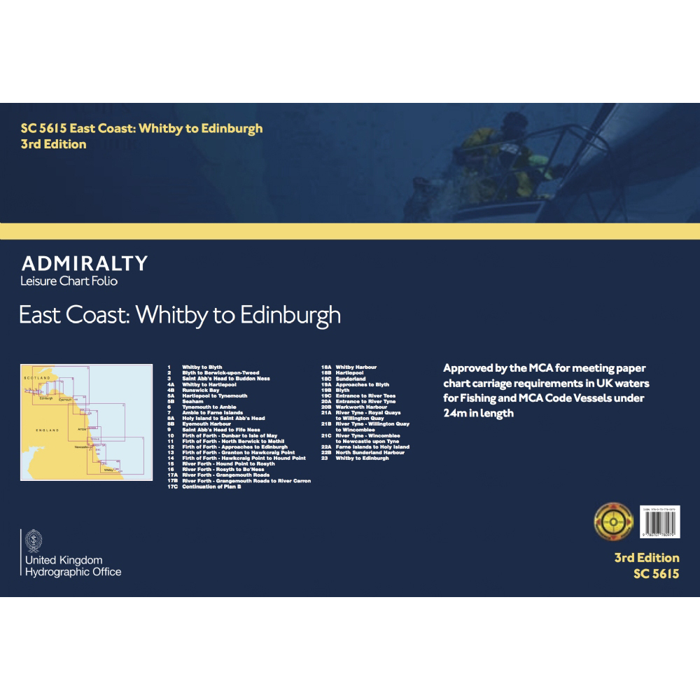 Folio - SC5615 - East Coast - Whitby to Edinburgh