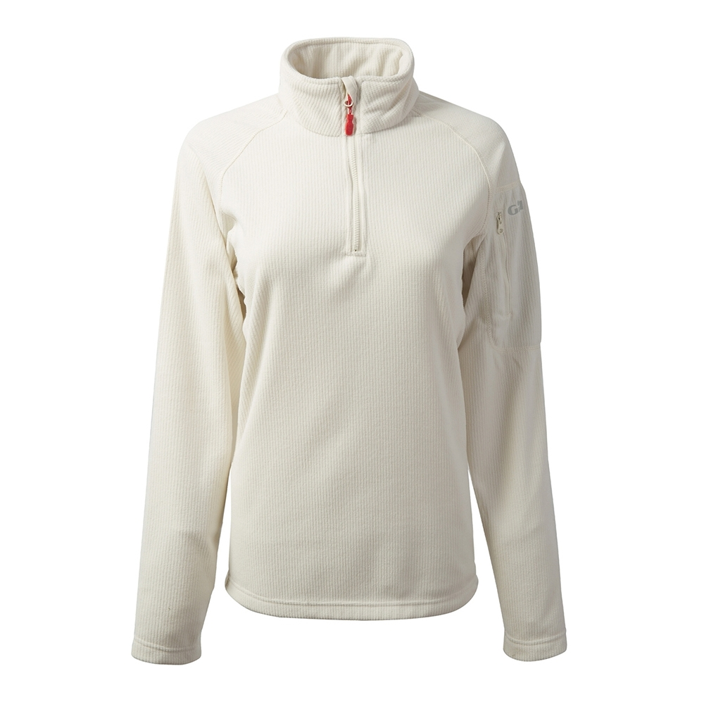 Women's Grid Microfleece - Oatmeal