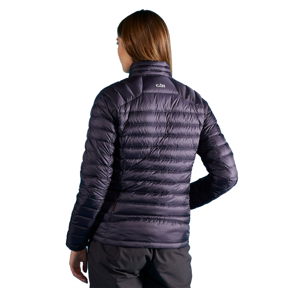 Womens Hydrophobe Down Jacket - Navy