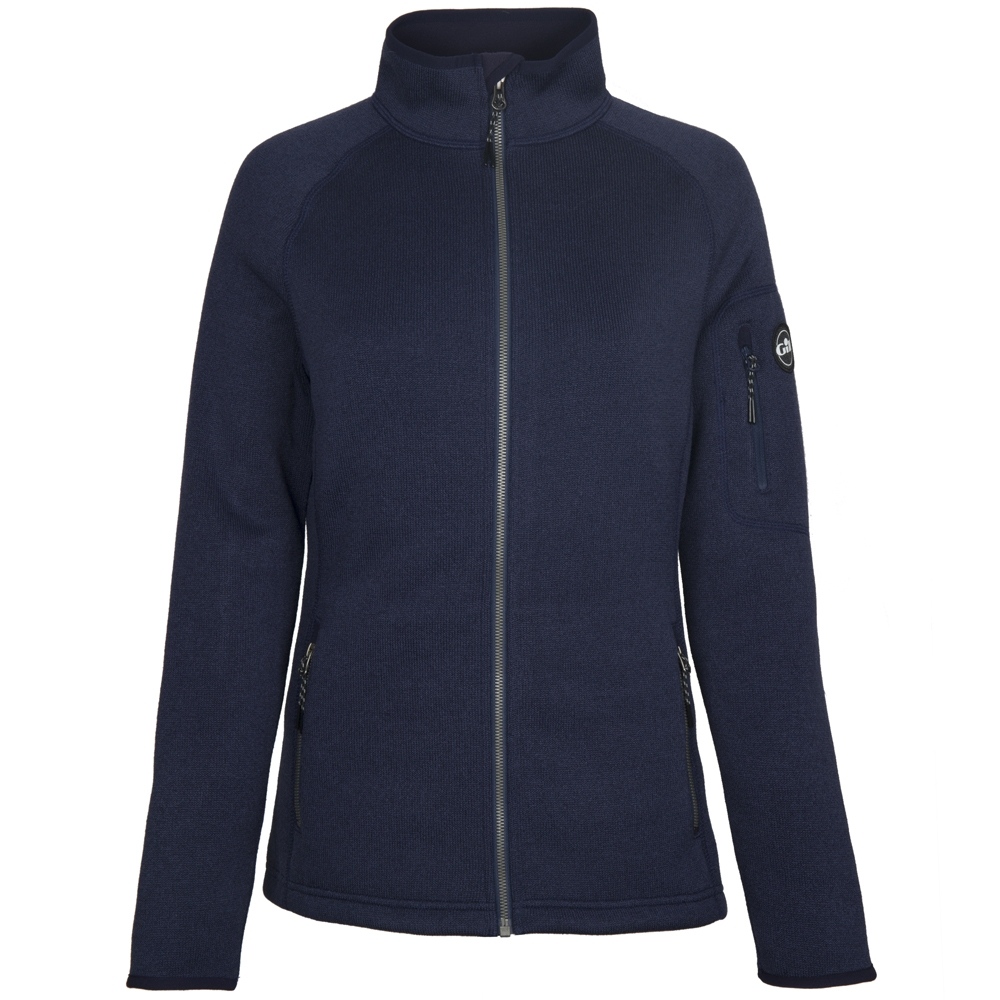 Womens Knit Fleece Jacket