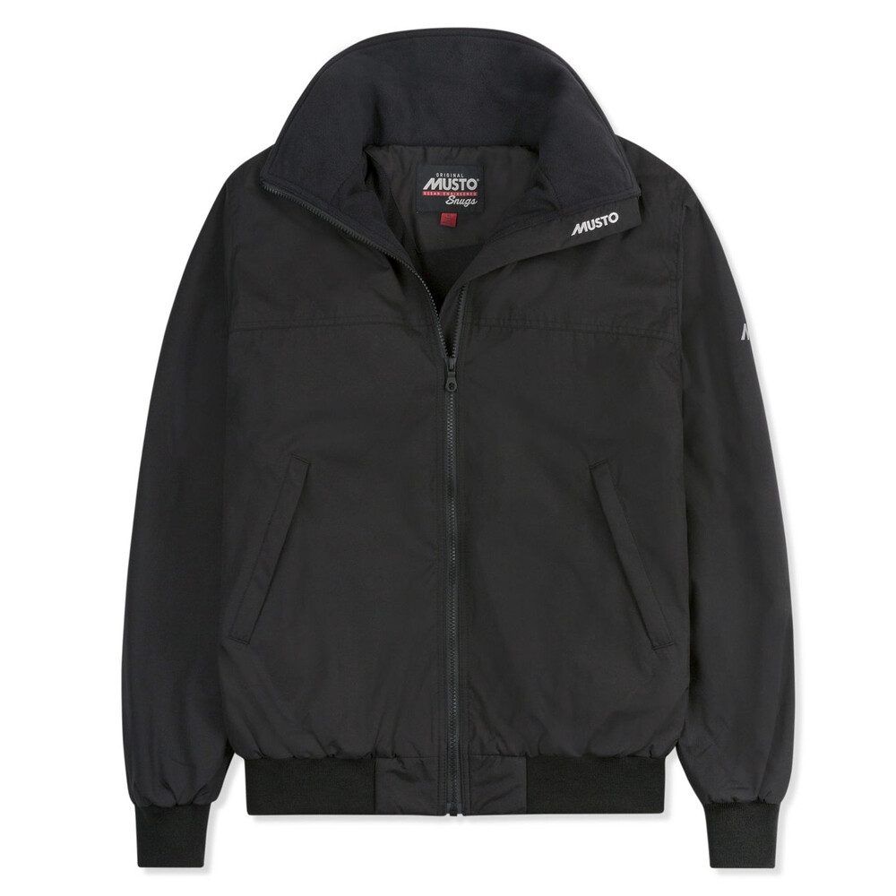 Snug Blouson Jacket - Black