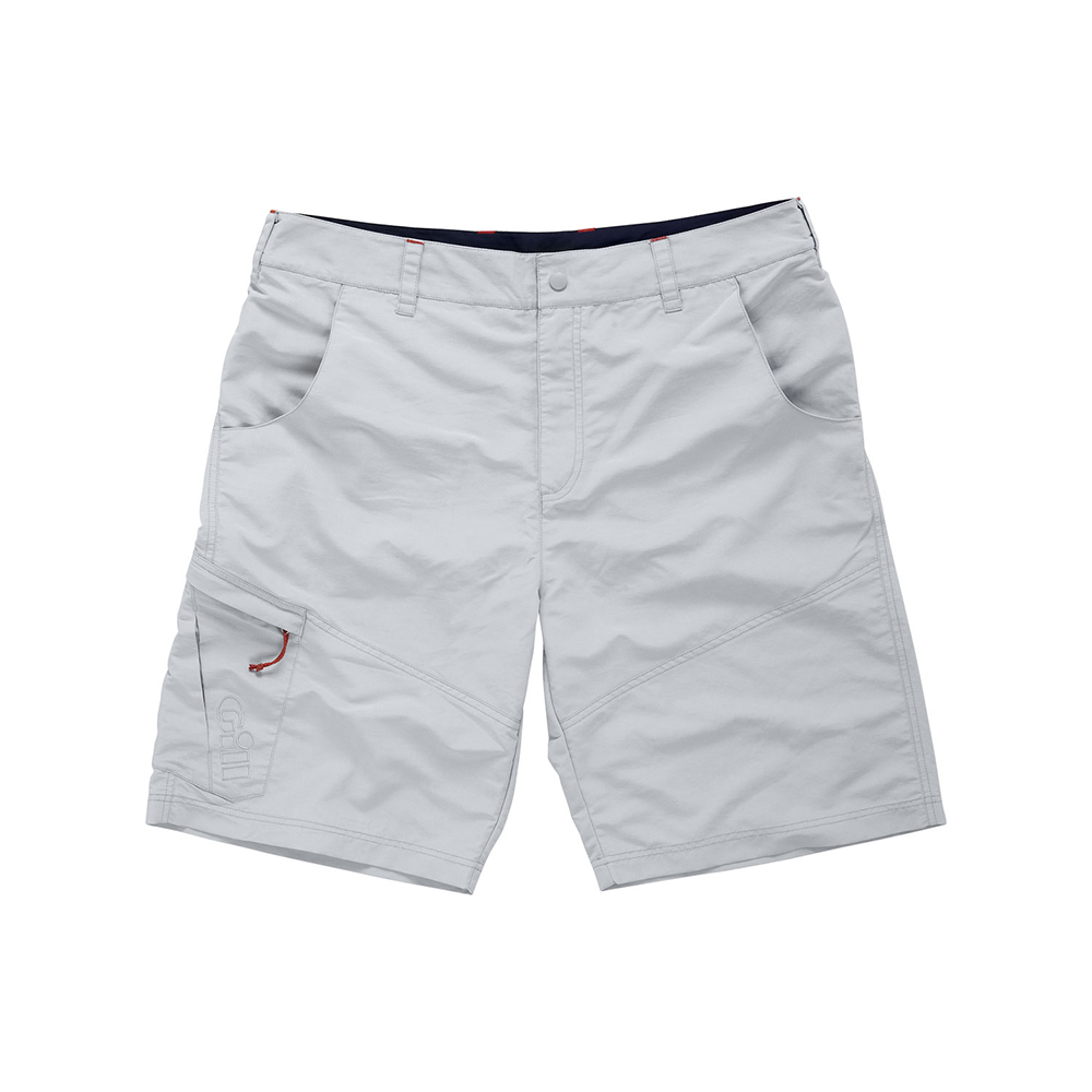 Men's UV Tec shorts - Silver Grey