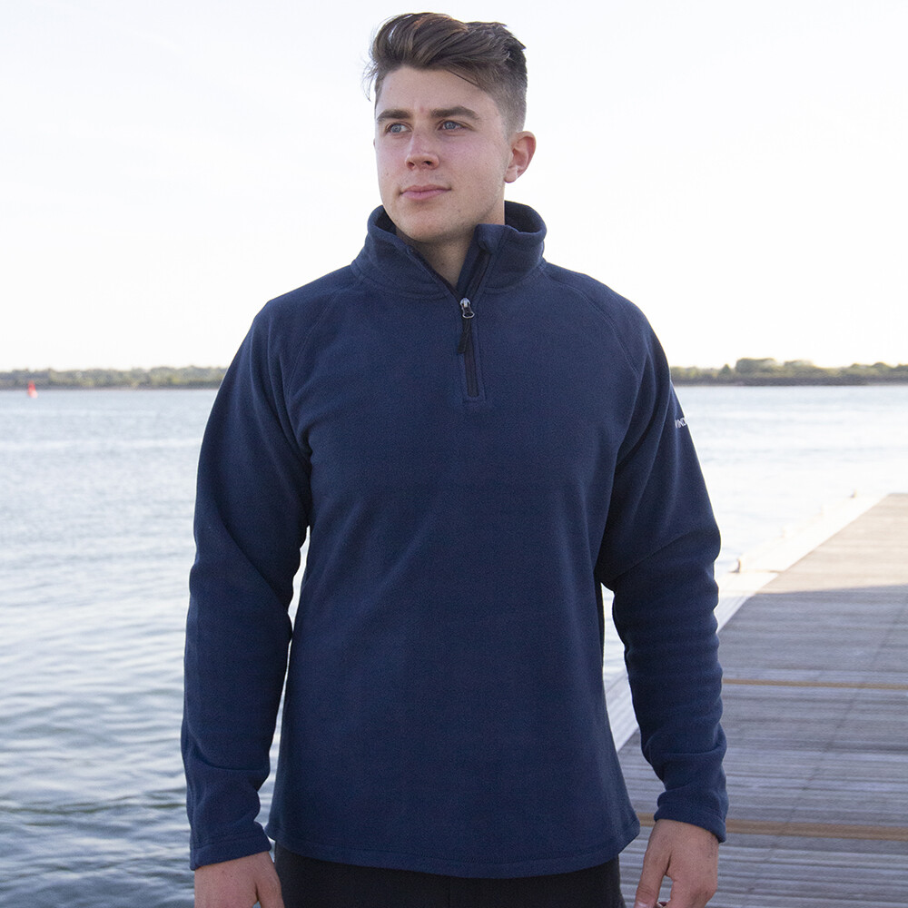 Eddystone Half Zip Fleece - Navy