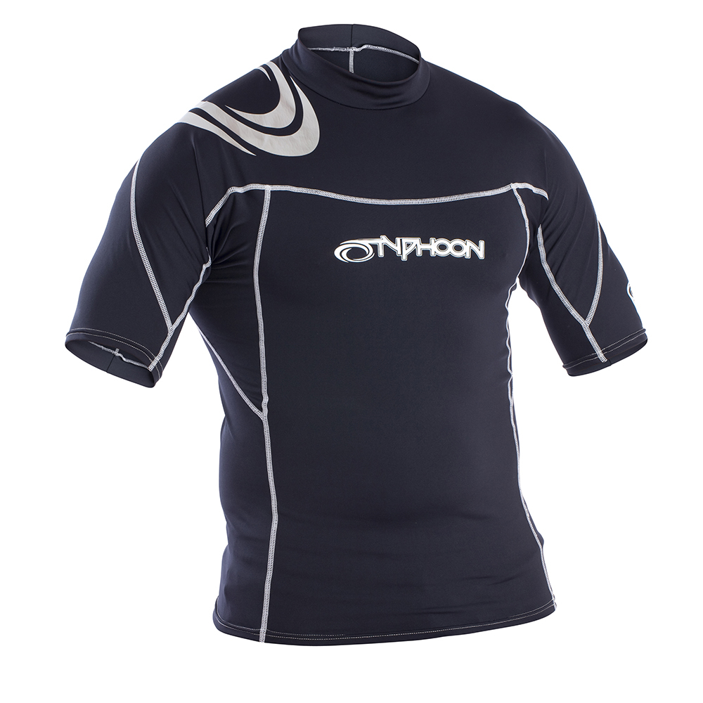 Mens Short Sleeve Rash Vest
