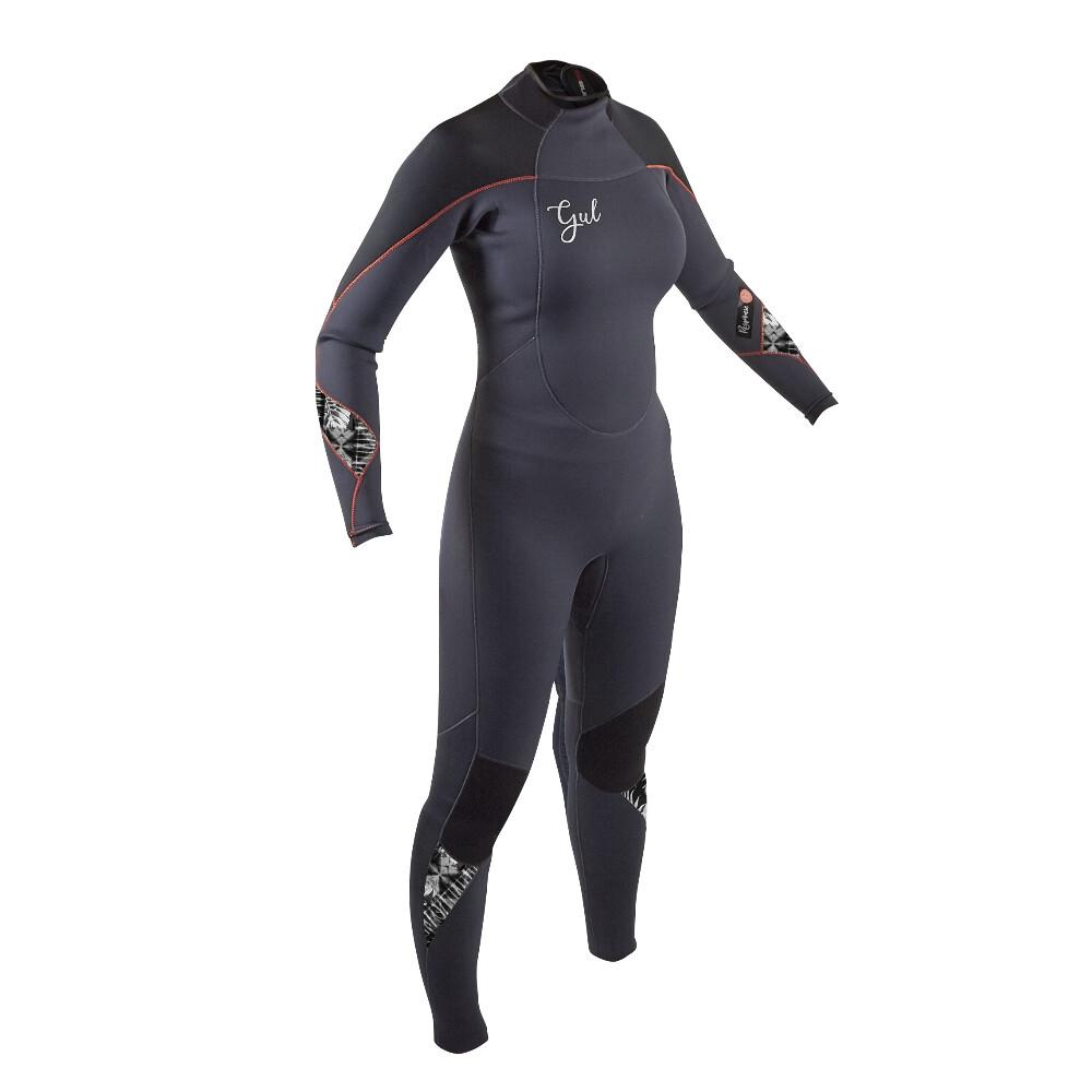 Response Women's 5:3 Steamer Wetsuit - Jet Black