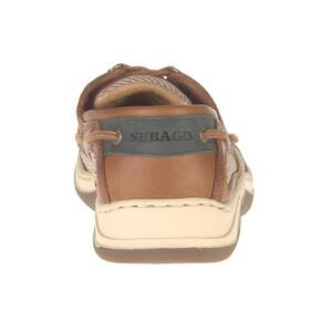 Clovehitch Leather Boat Shoe - Walnut (Brown Cin) UK