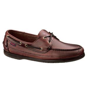 Schooner Leather Boat Shoe - Brown UK