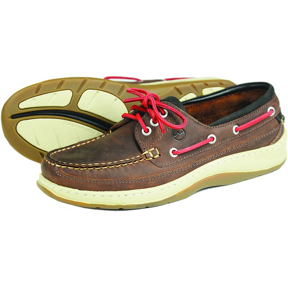 Squamish Deck Shoe Russet-Red