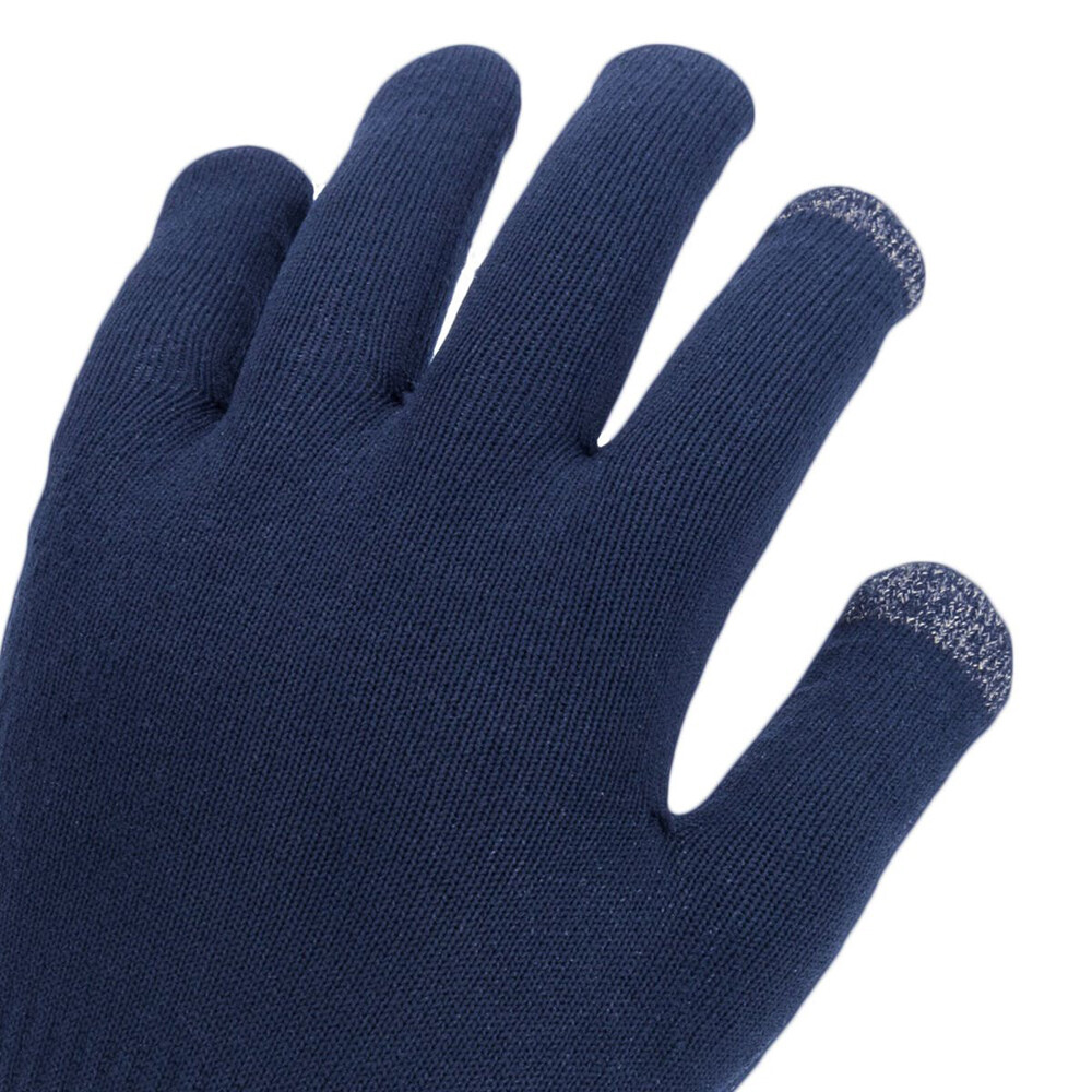 Waterproof All Weather Ultra Grip Knitted Glove - Navy