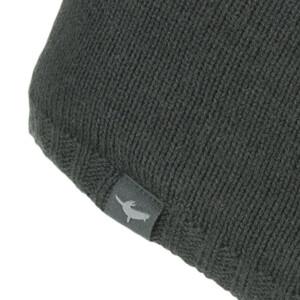 Waterproof Cold Weather Beanie Hat - Black