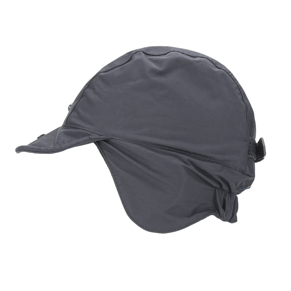 Waterproof Extreme Cold Weather Hat - Black