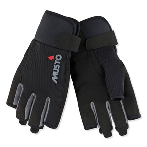Essential Short Finger Glove Black