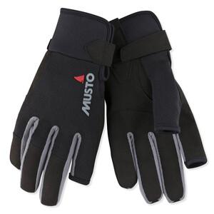 Essential Long Finger Glove Black