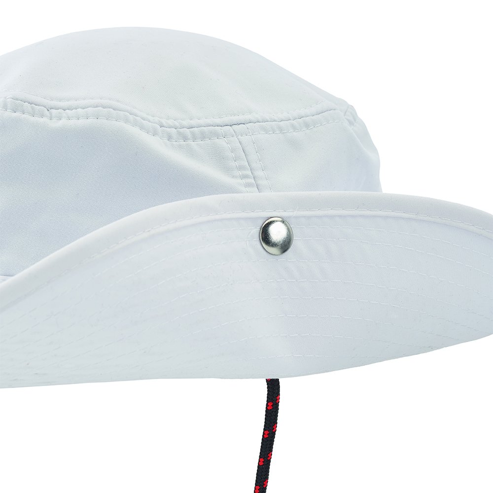 Evolution Fast Dry Brimmed Hat - White