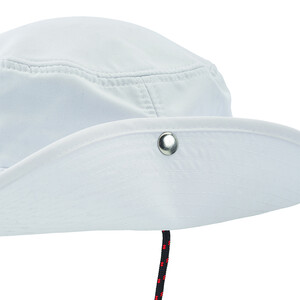 Evolution Fast Dry Brimmed Hat - White
