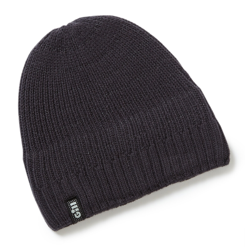 Reflective Knit Beanie - Graphite