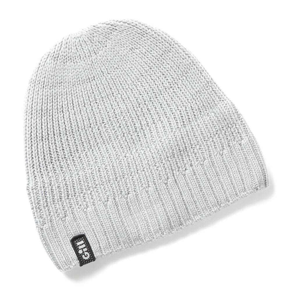Reflective Knit Beanie - Medium Grey