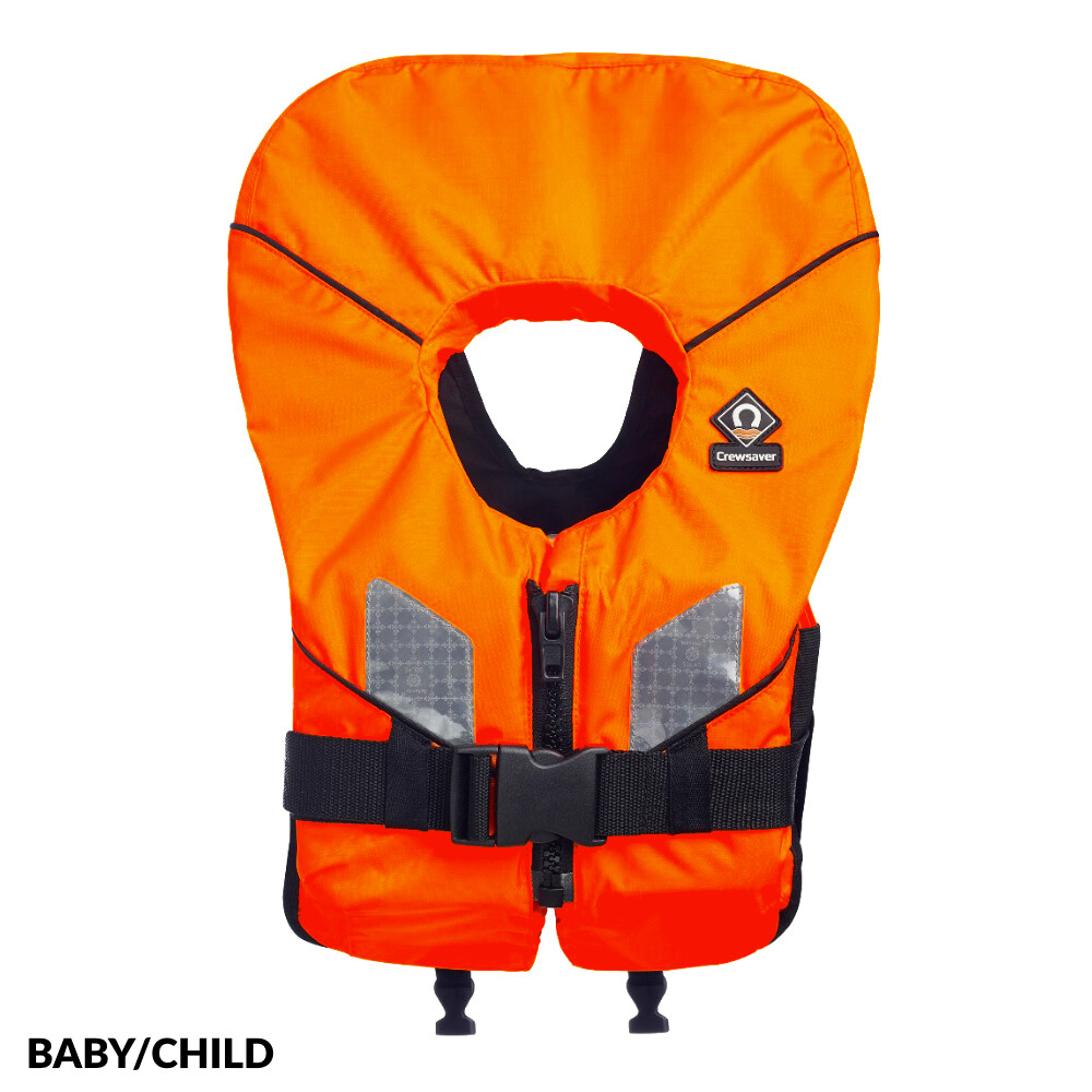 Spiral 100N Childs Lifejacket Orange
