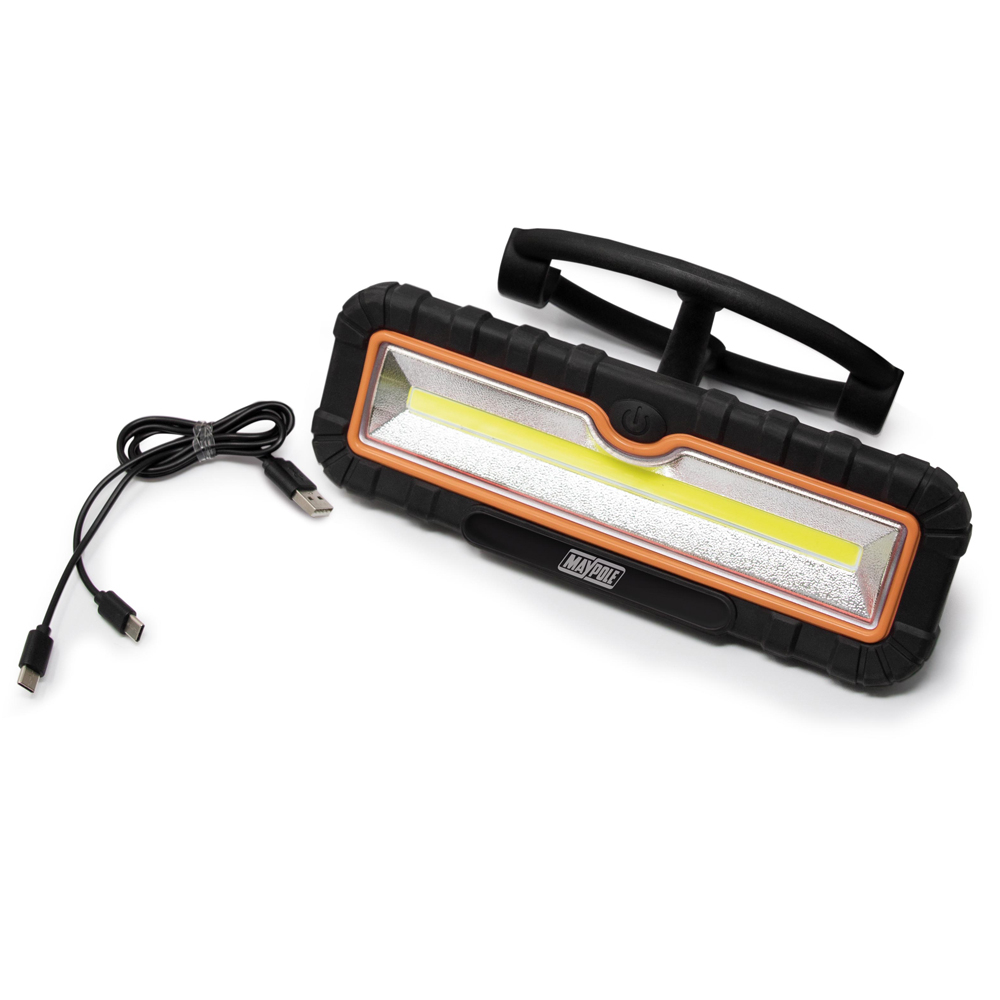 Rechargeable 500W LED Worklamp & Powerbank