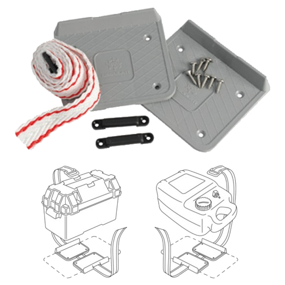Battery Fixing Plates with Strap