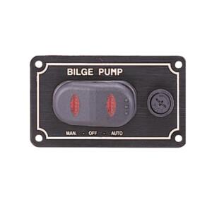 Waterproof Bilge Pump Rocker Switch - Horizontal