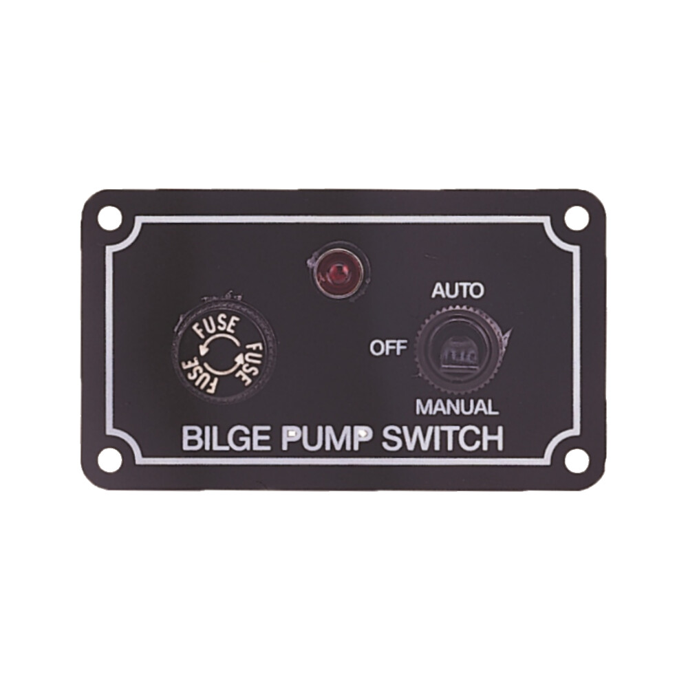 Bilge Pump Switch Fused - Toggle