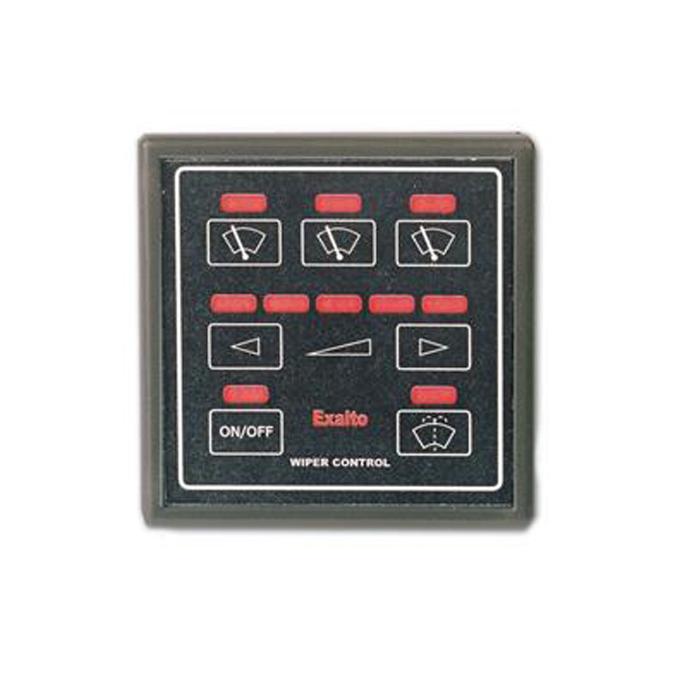 MD1 Wiper Control Panel CT3EX for max 3 Wipers