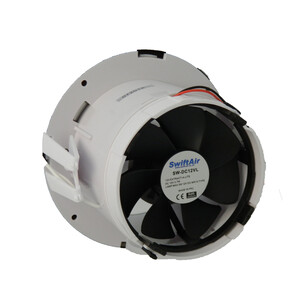 Extractor Fan with LED Light 12V