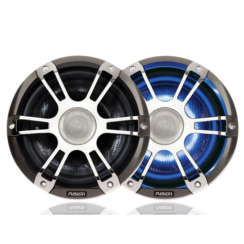 "Signature 6.5"" 230 WATT Coaxial Sports Chrome Marine S"
