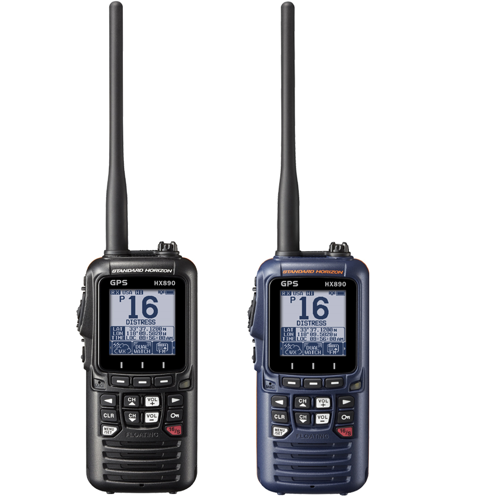 HX890e Floating DSC Handheld VHF Radio