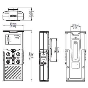 H60 Wireless Handset For V60 VHF