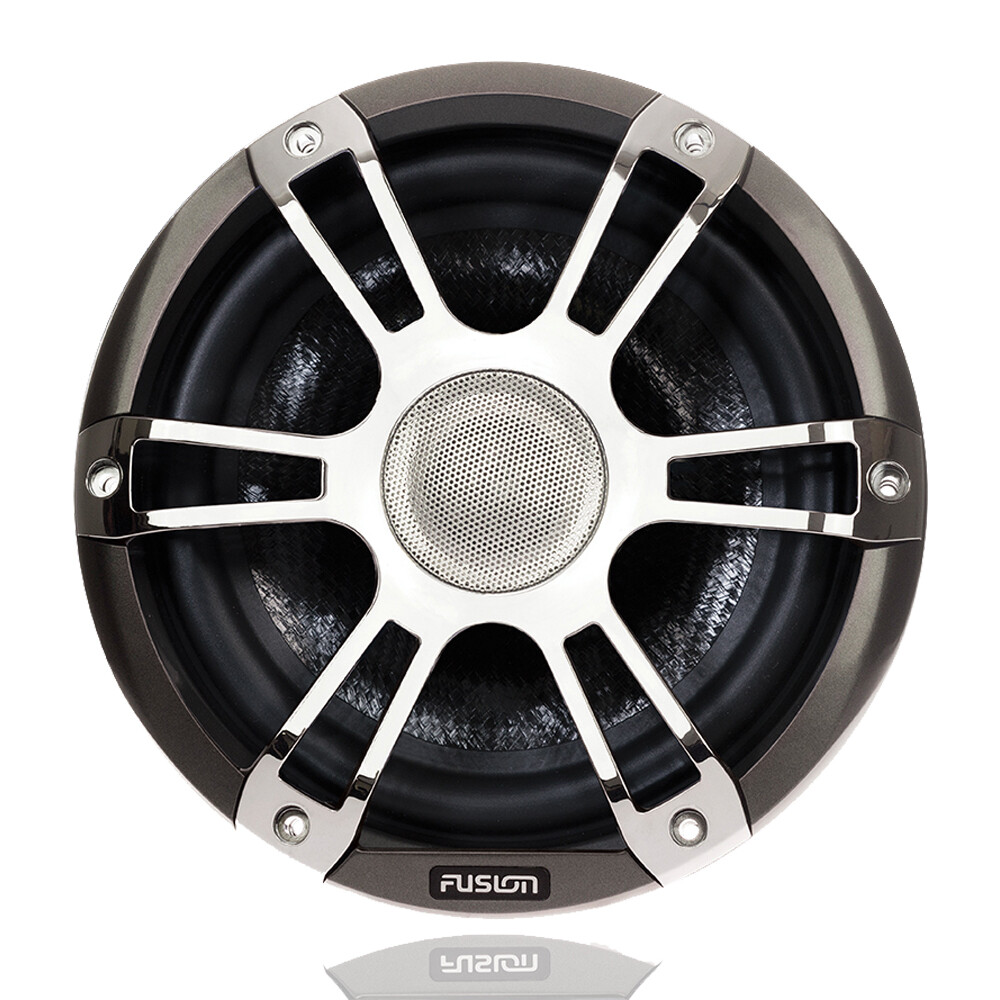"Signature 7.7"" 280 WATT Coaxial Sports Chrome Marine S"