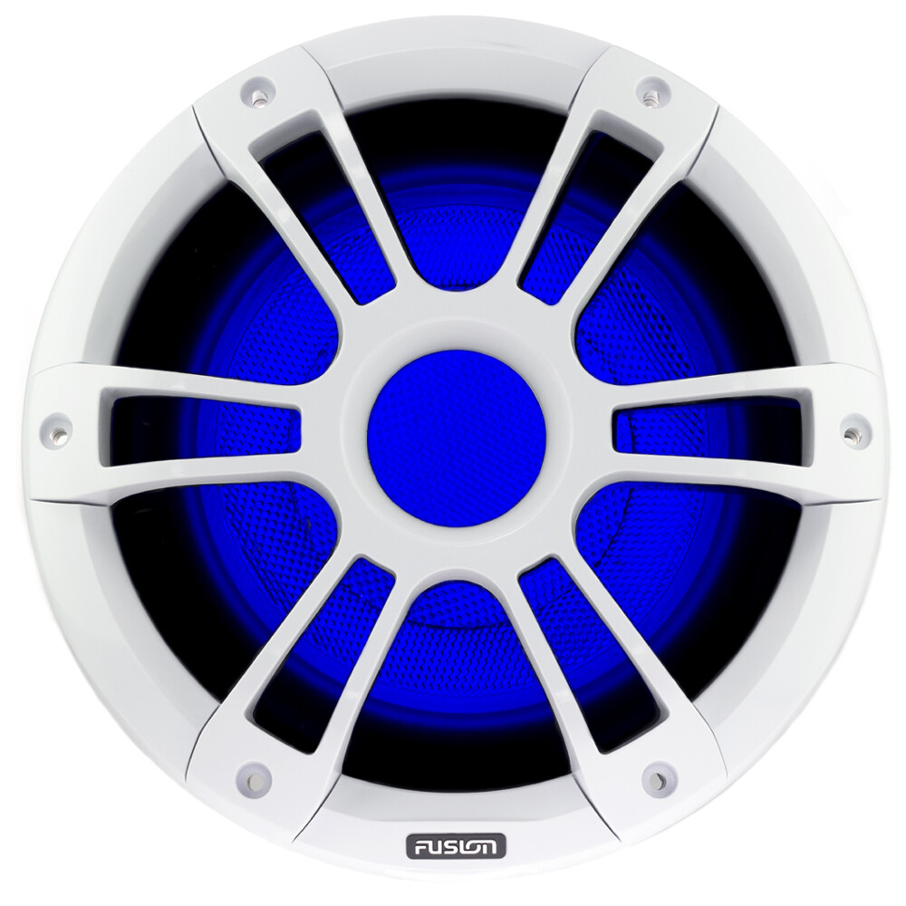"Signature 10"" 450 WATT Sports White Marine Subwoofer"