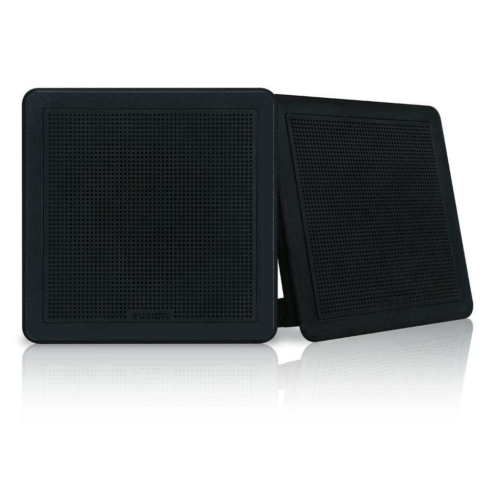 FM Series 6-5 120W Flush Mount Square Marine Speakers