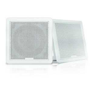 FM Series 6-5 120W Flush Mount Square Marine Speakers