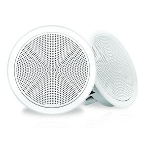 FM Series 7-7 200W Flush Mount Round Marine Speakers