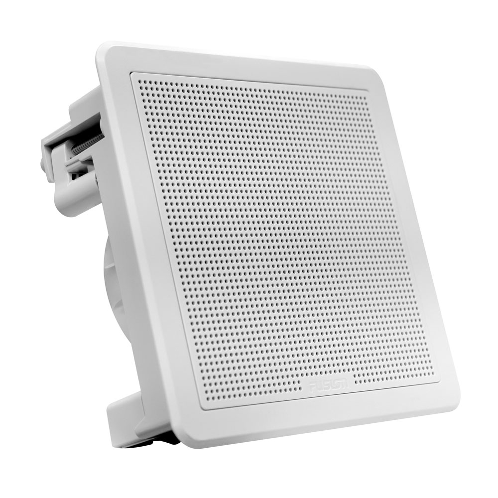 FM Series 7-7 200W Flush Mount Square Marine Speakers