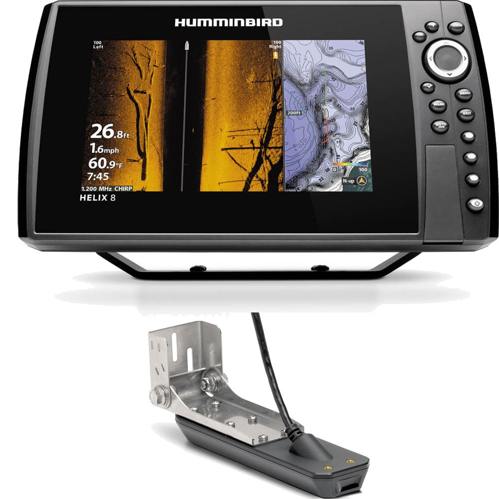 Helix 8 Chirp Mega SI Plus GPS G3N Fishfinder Chartplotter