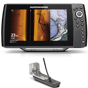 Helix 10 Chirp Mega SI Plus GPS G3N Fishfinder Chartplotter Combo
