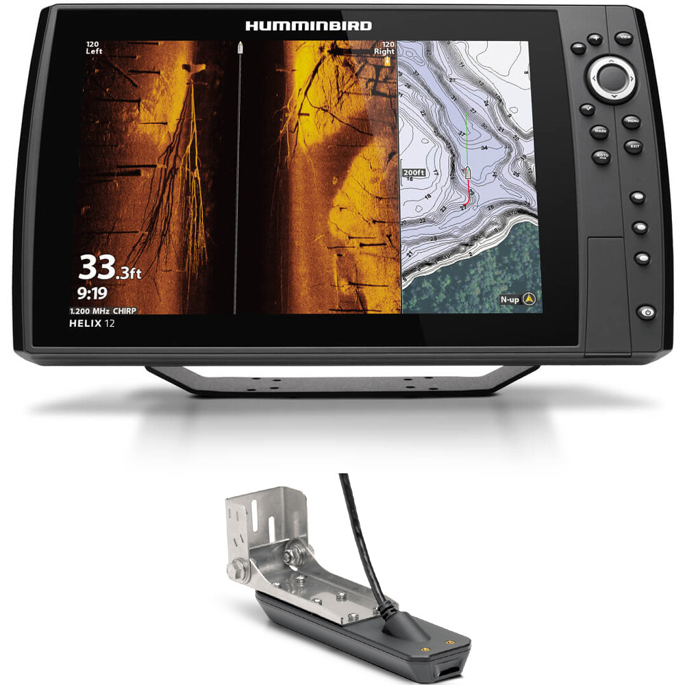 Helix 12 Chirp Mega SI Plus GPS G3N Fishfinder Chartplotter Combo