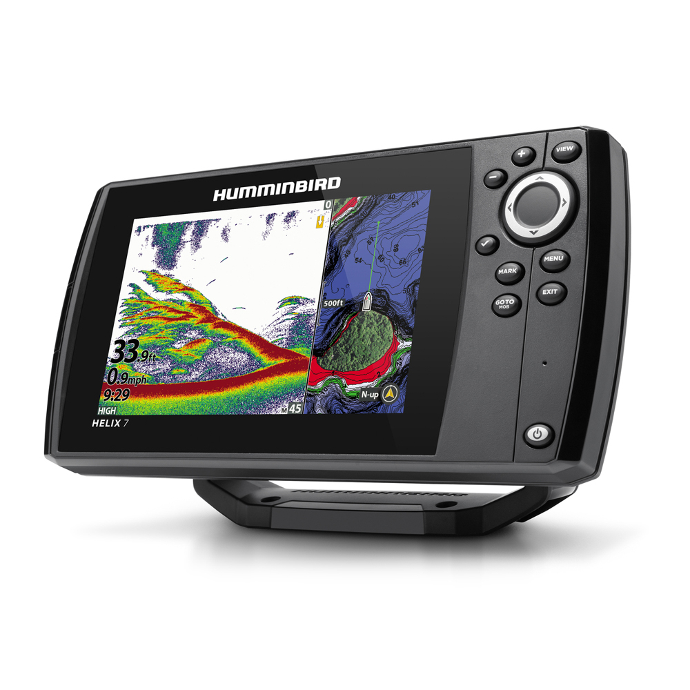 Helix 7 CHIRP MSI GPS G3N Chartplotter Fishfinder